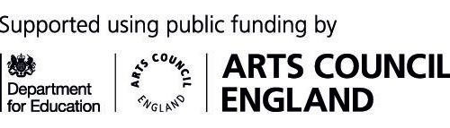 Department for Education Arts Council England logo