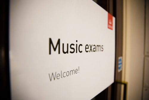 Music Exams ABRSM poster