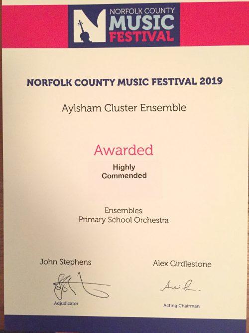 Aylsham Cluster Ensemble – Norfolk Music Hub