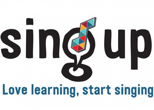 Sing Up logo