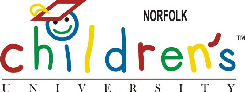 Children's University Norfolk Logo