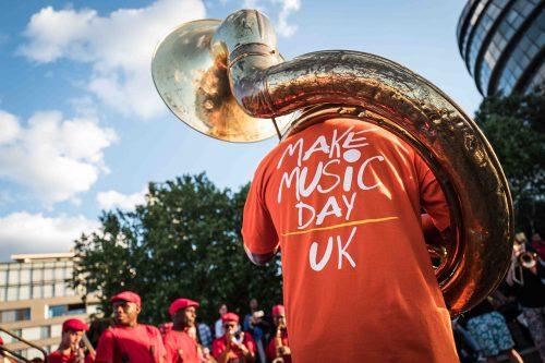 Make Music Day UK image of sousaphone