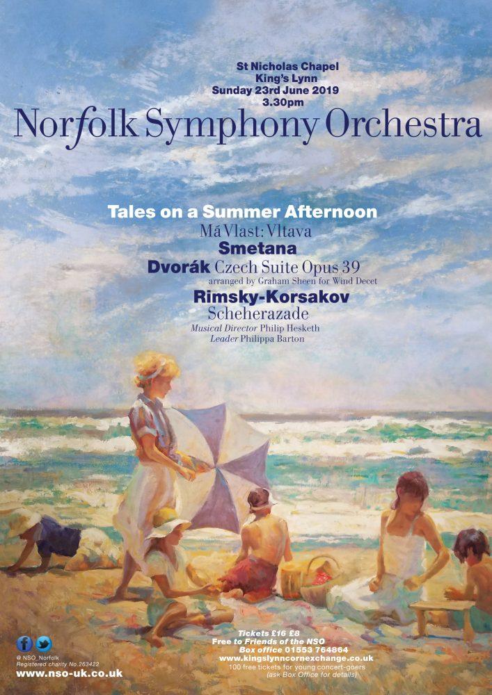 Norfolk Symphony Orchestra poster
