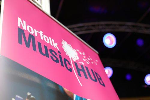 Norfolk Music Hub banner