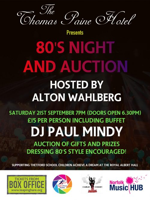 80s Night and Auction