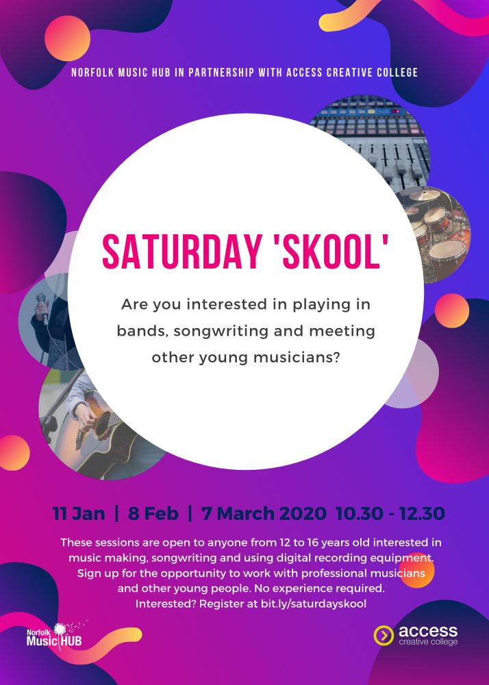Saturday Skool Flyer 2020