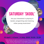 Saturday Skool Flyer Summer 2020