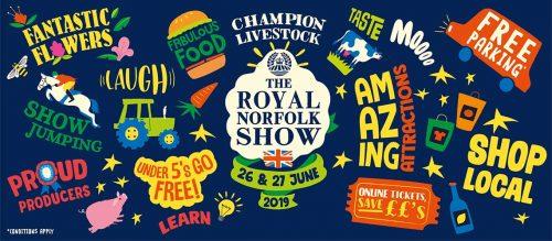Royal Norfolk Show 2020 web banner