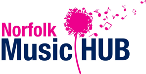 Norfolk Music Hub logo